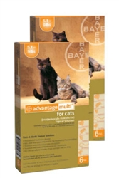 Advantage Multi For Cats 5-9 lbs, 12 Pack