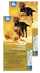 Advantage Multi For Dogs 55-88 lbs, 12 Pack
