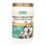 NaturVet Brewer's Dried Yeast With Garlic Powder, 1 lb