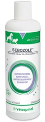 Sebozole Medicated Shampoo, 8 oz