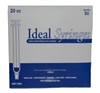 Ideal Syringe 20 cc, Without Needle, Regular Luer, 50/Box