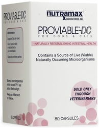 Proviable-DC for Dogs & Cats, 80 Capsules