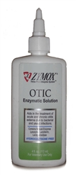 Zymox Otic Enzymatic Solution, Hydrocortisone Free, 4 oz.