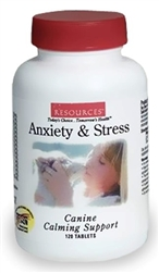 Resources  Anxiety & Stress Canine Calming Support, 120 Tablets
