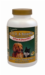 S.O.D. and Boswellia, 500 Tablets