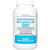 Diphenhydramine HCL [Compare to Benedryl] 25 mg, 1000 Capsules