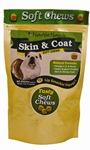 NaturVet Skin & Coat Soft Chews, 65 Chews