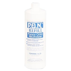 P.O.N. Puppy Odor Neutralizer Refill, 32 oz