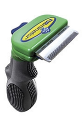 "FURminator deShedding Tool For Small Dogs Up To 20 lbs, 1.75"" Wide Edge, Short Hair Edge"