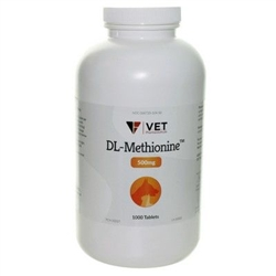 DL-Methionine 500mg, 1000 Tablets