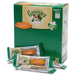 Greenies Mini-Me Merchandiser Treats For Dogs - Petite, 25 CT
