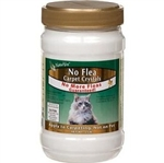 NaturVet No Flea Carpet Crystals For Cats, 2 lbs.