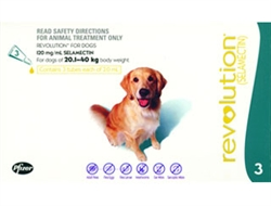 Revolution For Dogs 40-85 lbs, 3 Doses
