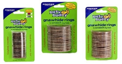 Gnawhide Rings Cornstarch, Medium