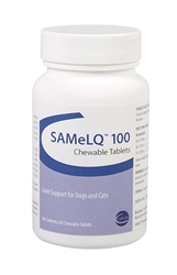 SAMeLQ 100 For Dogs & Cats, 60 Chewable Tablets