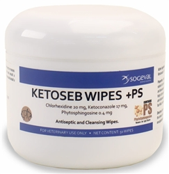 Ketoseb Wipes +PS, 50 Wipes