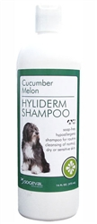 Hyliderm Shampoo +PS, Cucumber Melon, 16 oz