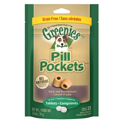 Greenies Pill Pockets Allergy Formula For Dogs, 25 Pockets For Tablets