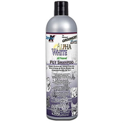 Groomer's Edge Alpha White Pet Shampoo, 16 oz.