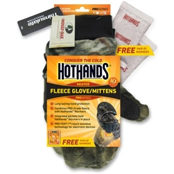 HotHands Heated Glove/Mittens, Mossy Oak X-LG
