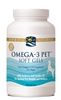 Nordic Naturals Omega-3 Pet for Dogs & Cats, 180 Soft Gels