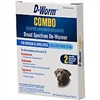 D-Worm COMBO Broad Spectrum De-Wormer For Medium & Large Dogs Over 25 lbs, 2 Chewable Tablets