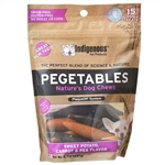 Pegetables Dental Chews, Mixed Vegetables - Small, 8 oz.