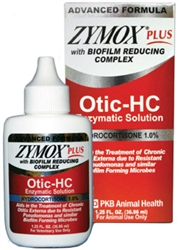 Zymox Plus Otic-HC Enzymatic Solution, 1.25 oz