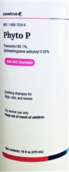 PhytoVet P Anti-Itch Shampoo, 16 oz.