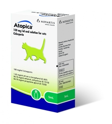 Atopica For Cats, 5 ml
