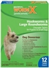 Sentry HC WormX Small Dog, 12 Chewable Tablets