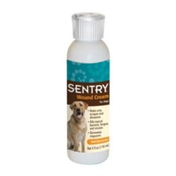 Sentry Wound Cream For Dogs, 4 oz