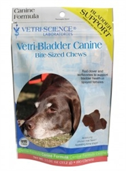 Vetri-Bladder Canine Bite-Sized Chews, 60 Count
