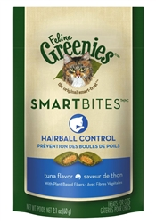 Feline Greenies SmartBites Hairball Control - Tuna, 2.1 oz