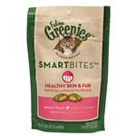 Feline Greenies SmartBites Healthy Skin & Fur - Salmon, 2.1 oz