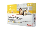 Comfortis For Cats 2-4 lbs & Dogs 3.3-4.9 lbs, 6 Pack