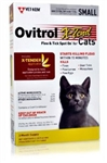 Ovitrol X-Tend Flea & Tick Spot On For Small Cats 2.5-5 lbs, 3 Months