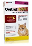 Ovitrol X-Tend Flea & Tick Spot On For Large Cats 5 lbs And Over, 3 Months