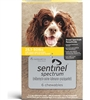 Sentinel Spectrum Chewables For Dogs 25.1-50 lbs, 6 Pack