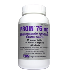 Proin 75 Chewable Tablets, 180 Count