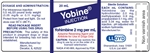 Yobine Injection, 2mg