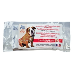 Univac 10 Canine DA2LPPC Single Dose Vaccine