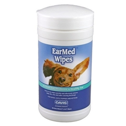 Davis EarMed Wipes, 40 Wipes