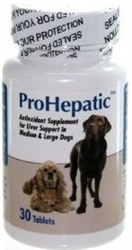 ProHepatic Liver Support For Medium Dogs, 30 Tablets