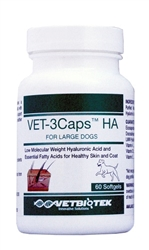 Vet-3Caps HA For Large Breeds, 60 Softgels