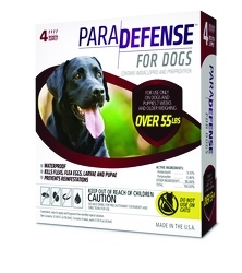 ParaDefense For X-Large Dogs 21-55 lbs, 4 Pack