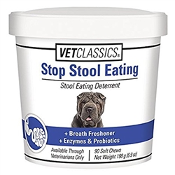 Vet Classics Stop Stool Eating, 90 Soft Chews