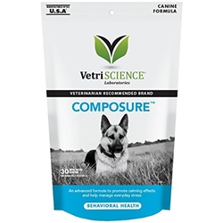 Composure Bite-Sized Chews, Canine Formula, 30 Soft Chews
