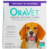 Oravet  Dental Hygiene Chews Medium Dogs 25 to 50 lbs, 14 Chews