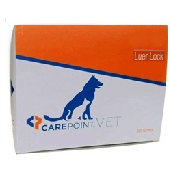 CarePoint Syringe 20cc Without Needle Luer Lock, 100/Box